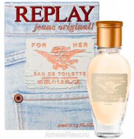 REPLAY Jeans Original For Her EDT